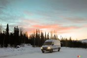 Through the windshield: An Arctic panorama