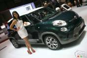 Women in the Auto World: Car models in Geneva