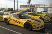 A Day with Corvette Z06s