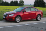 Chevrolet Cruze Eco 2012 : essai routier