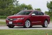 Chevrolet Impala LTZ 2014 : essai routier