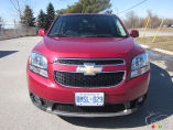 Chevrolet Orlando LTZ 2012 : essai routier