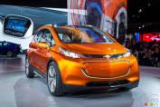 Le concept Chevrolet Bolt entrera en production et sera vendu en 2017
