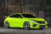 Le nouveau concept de la Honda Civic dévoilé au Salon de New York
