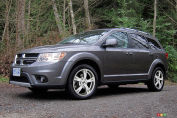 Dodge Journey R/T TI 2012 : essai routier