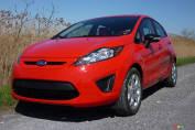 Ford Fiesta 2012 SES à hayon: essai routier