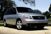 Ford recalls 33,262 Freestar minivans in Canada