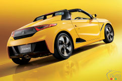Honda'S New S660 Is A Cute Little Roadster... Available In Japan Only