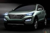 Premières images : Hyundai Santa Fe 2013