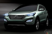 2013 Hyundai Santa Fe: first images unveiled