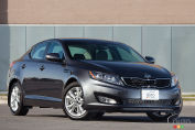 Kia Optima EX Turbo 2012 : essai routier