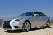 New 2014 Lexus IS pricing announced
