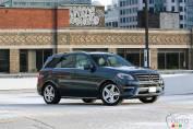 Mercedes-Benz ML 350 BlueTEC 2014: essai routier