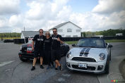 Mingling with MINIs at Mosport