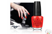 Limited-edition nail lacquers to match your Ford Mustang!
