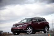 Nissan Murano LE Édition Platine 2012 : essai routier