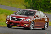 Nissan Altima 2.5 2014 : essai routier
