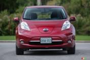 Nissan LEAF SL 2015: essai routier