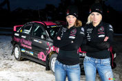 First all-female line-up in Production Car World Rally Championship