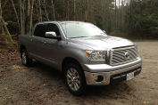 2013 Toyota Tundra 4x4 CrewMax Platinum Review