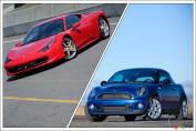Ferrari pour les hommes, MINI pour les femmes