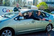 Google a mis au point un véhicule sans conducteur
