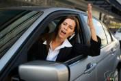 To the gentleman driving the black Porsche Cayenne…