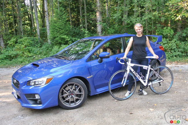 Iron Girl 2014 and the Subaru STI