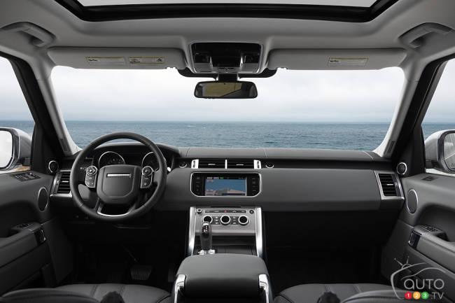 2014 range rover sport hse cabin