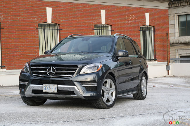 2014 mercedes benz ml 350 bluetec review. Black Bedroom Furniture Sets. Home Design Ideas