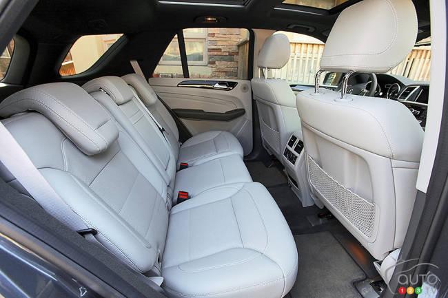 Mercedes-Benz ML 350 BlueTEC 2014 Sièges