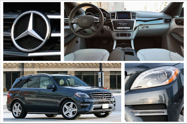 Mercedes-Benz ML 350 BlueTEC 2014