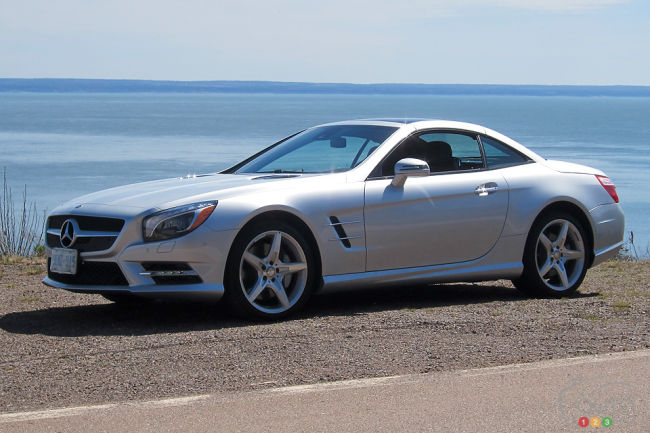 Mercedes-Benz SL 550 2013 vue 3/4 avant