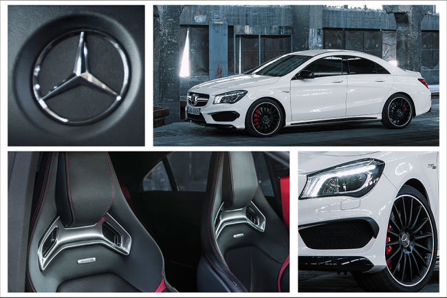 2014 Mercedes-Benz CLA 45 AMG 4MATIC