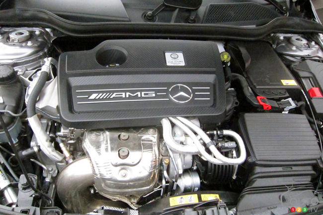 2014 Mercedes Benz A 45 AMG 4MATIC engine
