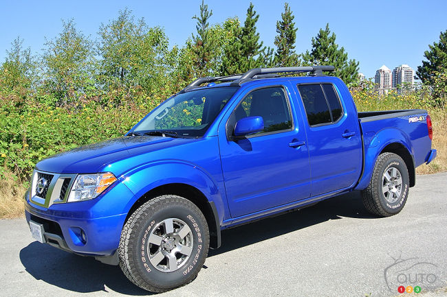2013 Nissan Frontier Crew Cab Pro 4x 4x4 Review