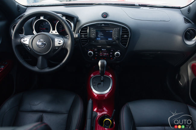 Essai comparatif de petits multisegments alternatifs for Interieur nissan juke