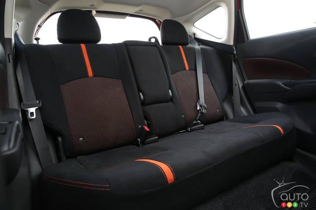 Nissan Versa Note SR 2015 habitacle