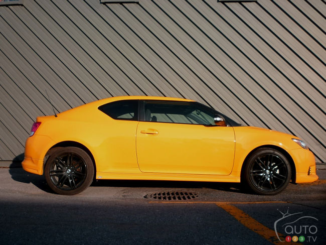 2012 Scion tC Release Series 7.0 right side view