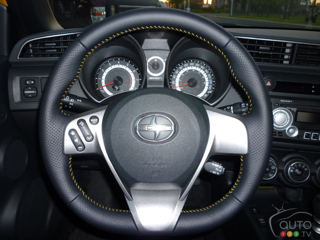 2012 Scion tC Release Series 7.0 steering wheel