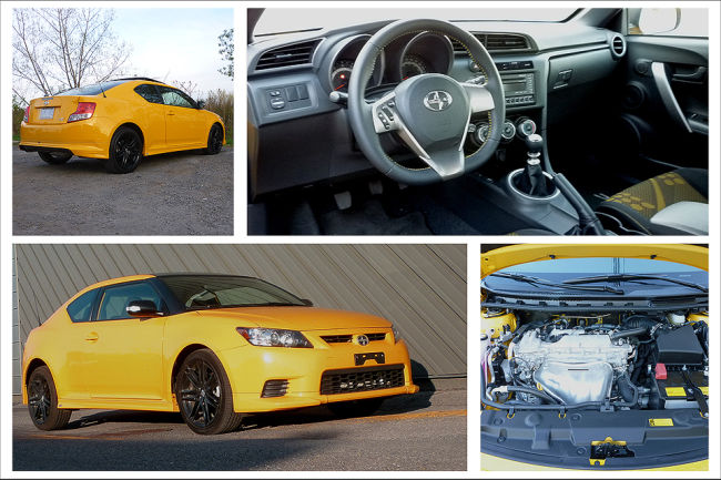 Scion tC Release Series 7.0 2012