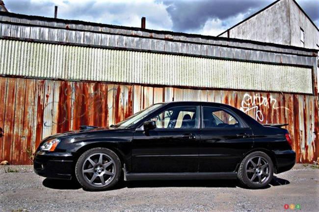 2004 Subaru WRX left side view