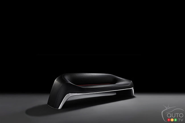 Mazda unveils sofa and bicycle in Milan