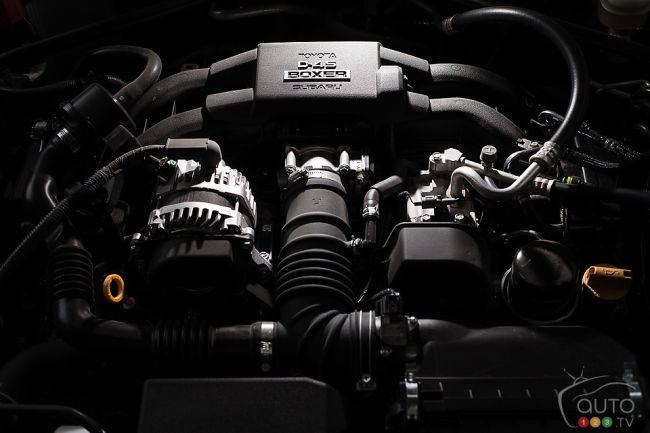 2013 Subaru BRZ Sport-Tech engine