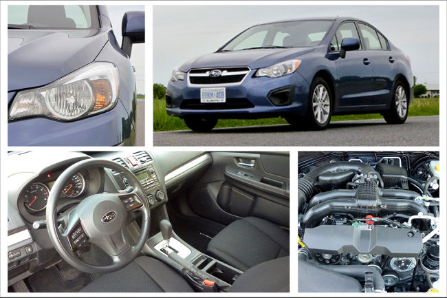 2012 Subaru Impreza Touring 4-door