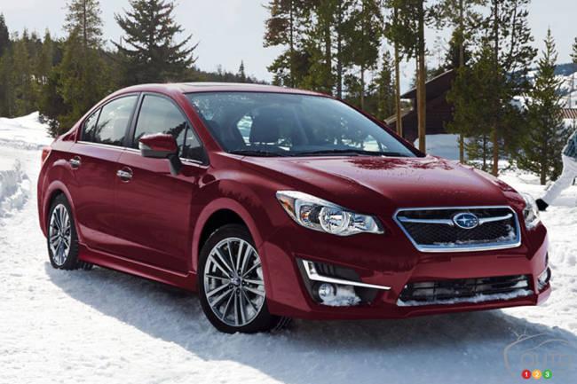 2015 Subaru Impreza 2.0i Sport 4-Door