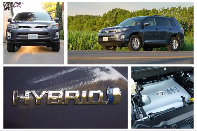 2012 Toyota Highlander Hybrid 4WD-i