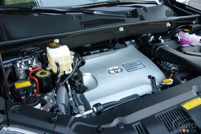 2012 Toyota Highlander Hybrid 4WD-i engine