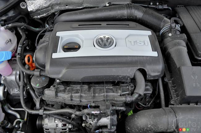 2012 Volkswagen Jetta GLI engine