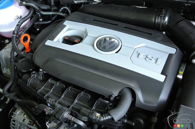 2013 vw cc r line engine